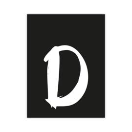 Letterslinger - letter D