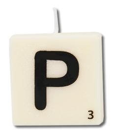 Letterkaars - P