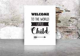 A3 | Welcome to the world little child