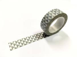 Masking tape grijs driehoek