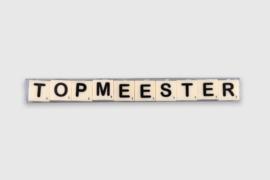 Letterkaarsjes in verpakking - Top Meester