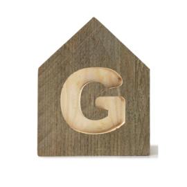 Letterhuisjes - Huisje G