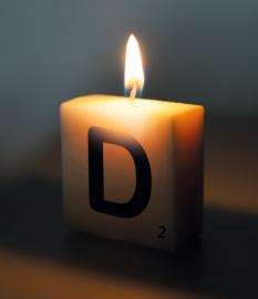 Letterkaars - D