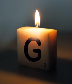 Letterkaars - G