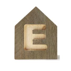 Letterhuisjes - Huisje E