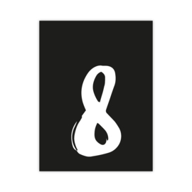 Letterslinger - cijfer 8