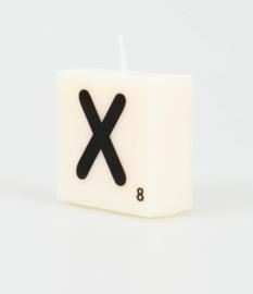 Letterkaars - X