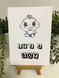 A6 | It's a Boy