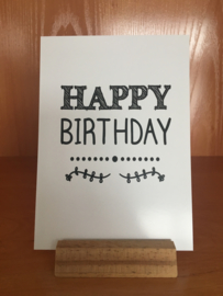 A6   Happy birthday