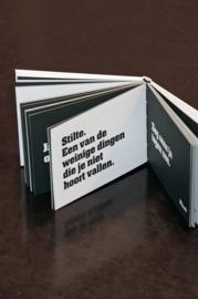 Mwah - Quoteboekje: Wie dit leest is te gek