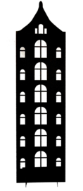 Huisje (tuitgevel) 34 cm