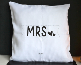 Kussen 'Mrs'