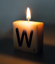 Letterkaars - W