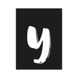 Letterslinger - letter Y