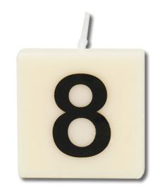 Letterkaars - 8 (cijfer)