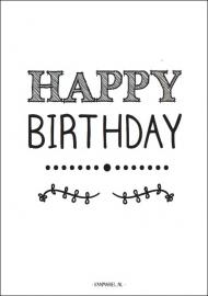 A6 | Happy birthday