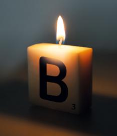 Letterkaars - B
