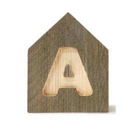 Letterhuisjes - Huisje A