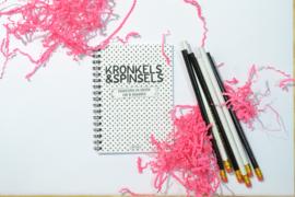 Kronkels en Spinsels (notitieboek)