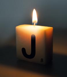 Letterkaars - J