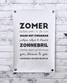 Tuinposter - Zomer