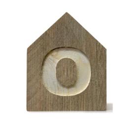 Letterhuisjes - Huisje O