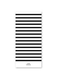 Studio Stationery - Noteblock black&white