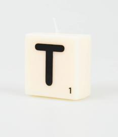 Letterkaars - T