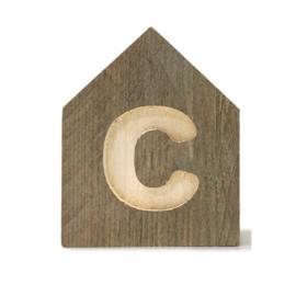 Letterhuisjes - Huisje C