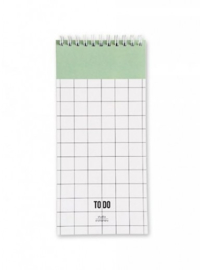 Studio Stationery - To Do Mint (grid)