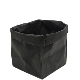HOP - Paperbag M zwart