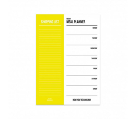 Studio Stationery - Meal planner