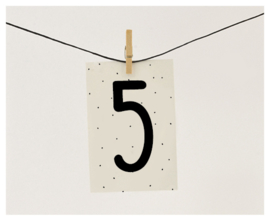 Naamslinger cijfer 5