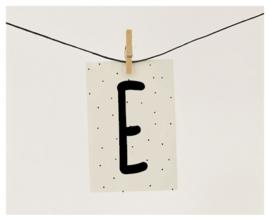 Naamslinger letter E