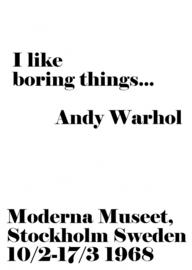 A6 | I like boring things