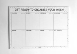 Organize your week A4 (2019)