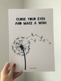 A6 | Close your eyes & make a wish (sale)