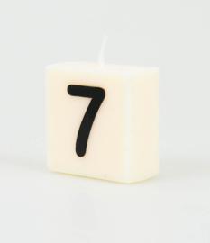 Letterkaars - 7 (cijfer)