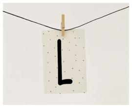 Naamslinger letter L