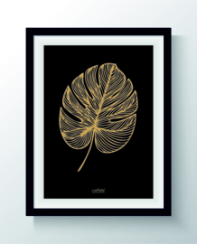 Monstera (goud)