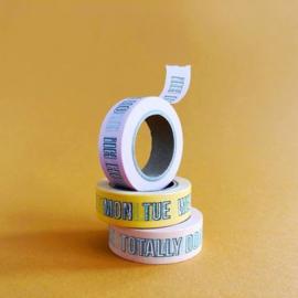 Masking tape Blink
