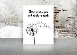 A3 | Close your eyes and make a wish