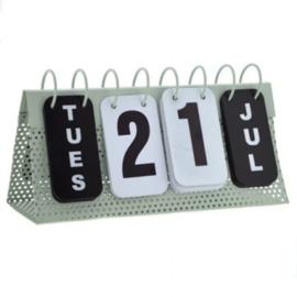 Kalender (metaal)