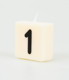 Letterkaars - 1 (cijfer)