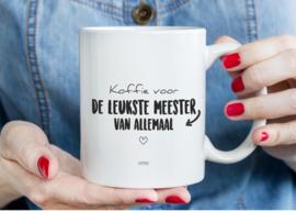 MOK - Koffie voor de leukste meester