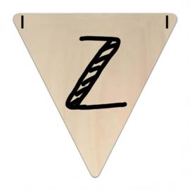 Houten Vlaggetje | Z