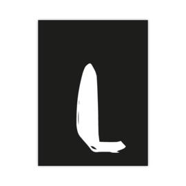 Letterslinger - letter L
