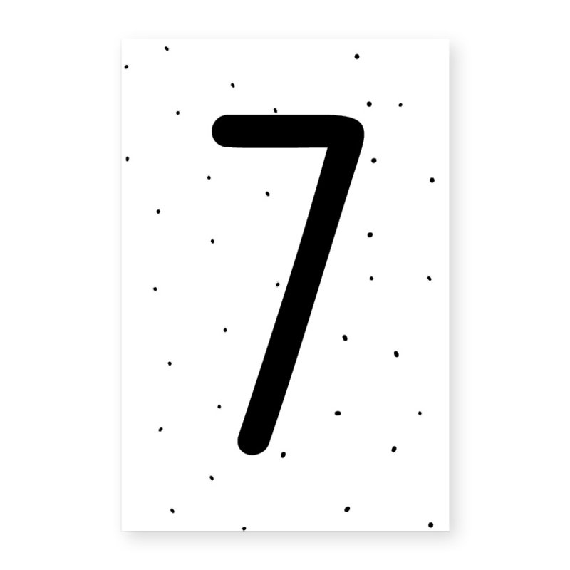Naamslinger cijfer 7