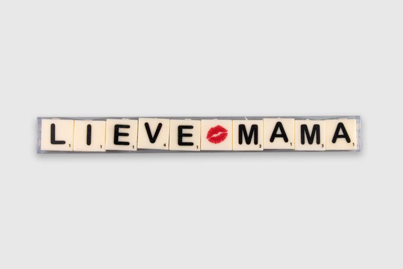 Letterkaarsjes in verpakking - Lieve mama