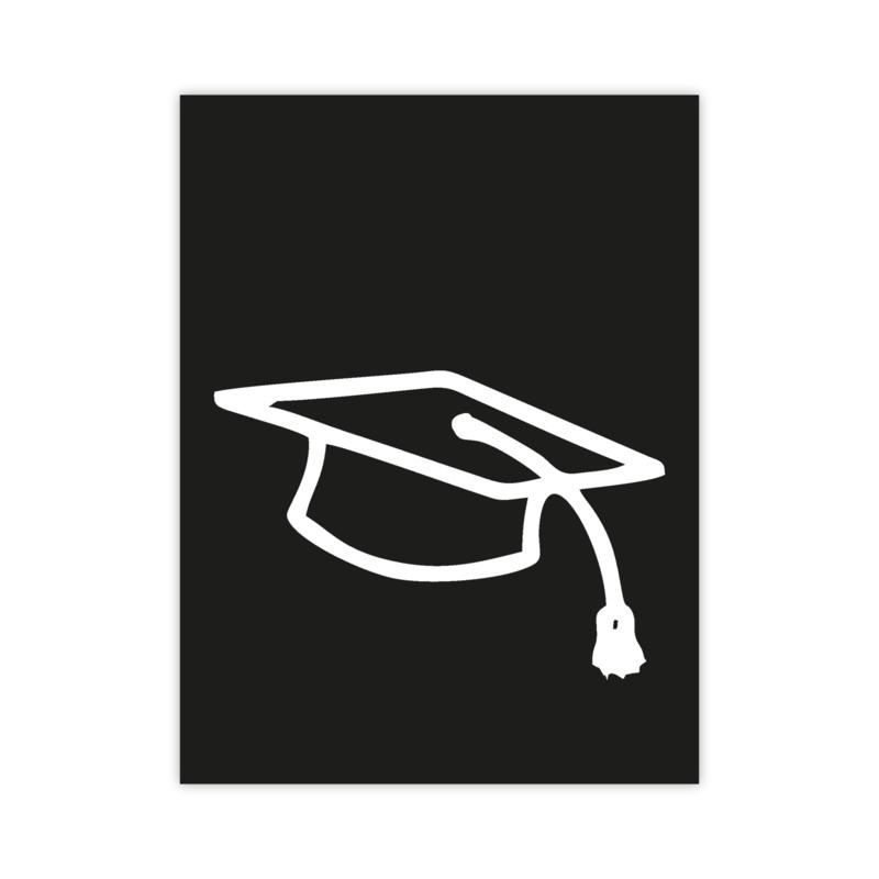 Letterslinger - symbool geslaagd